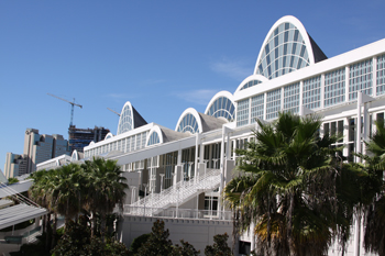 Das Orange County Convention Center in Orlando, in dem die ICE USA stattfinden wird