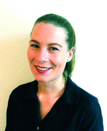 Melanie Nübling, Marketing/Vertrieb bei RHEINTACHO