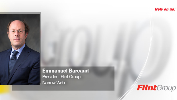 Emmanuel Bareaud, neuer Präsident der Flint Group Narrow Web.